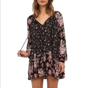 Free People Lucky Loosie Boho Swing Dress/Tunic